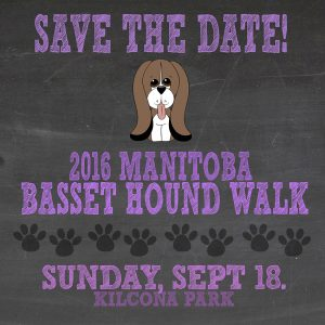 Save the Date - Basset Hound Walk