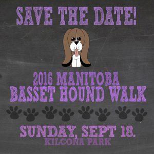 Save the Date - Basset Hound Walk